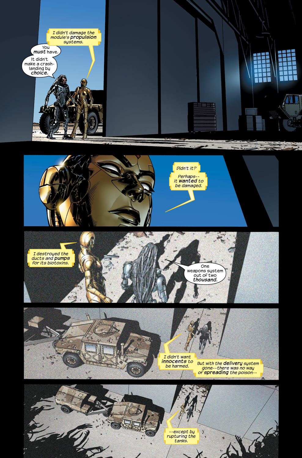 Read online Ultimate Vision comic -  Issue #4 - 20