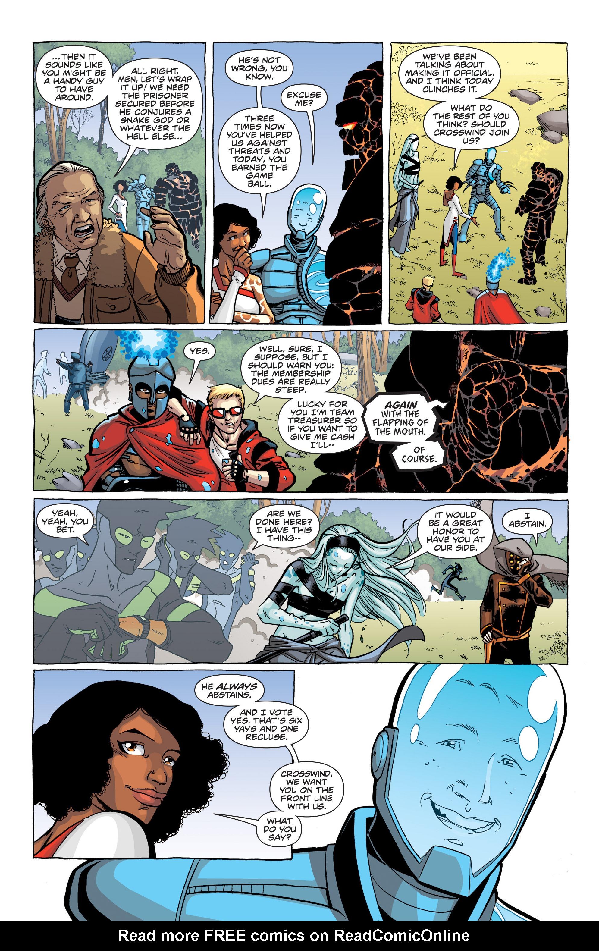 Read online Secret Identities comic -  Issue #1 - 9
