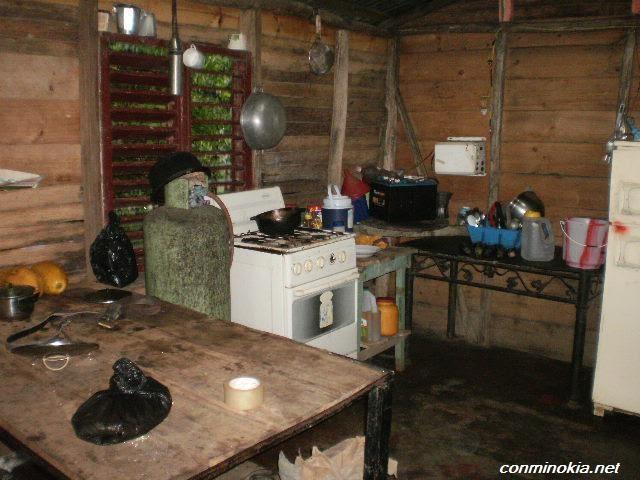 Cocina de un campo moderno con mi nokia en la mano - Cocinas de campo ...