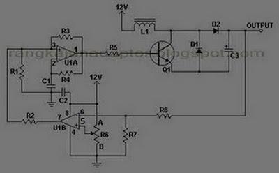 converter 12 to 24vdc kickuctutorial rangkaian listrik. Black Bedroom Furniture Sets. Home Design Ideas