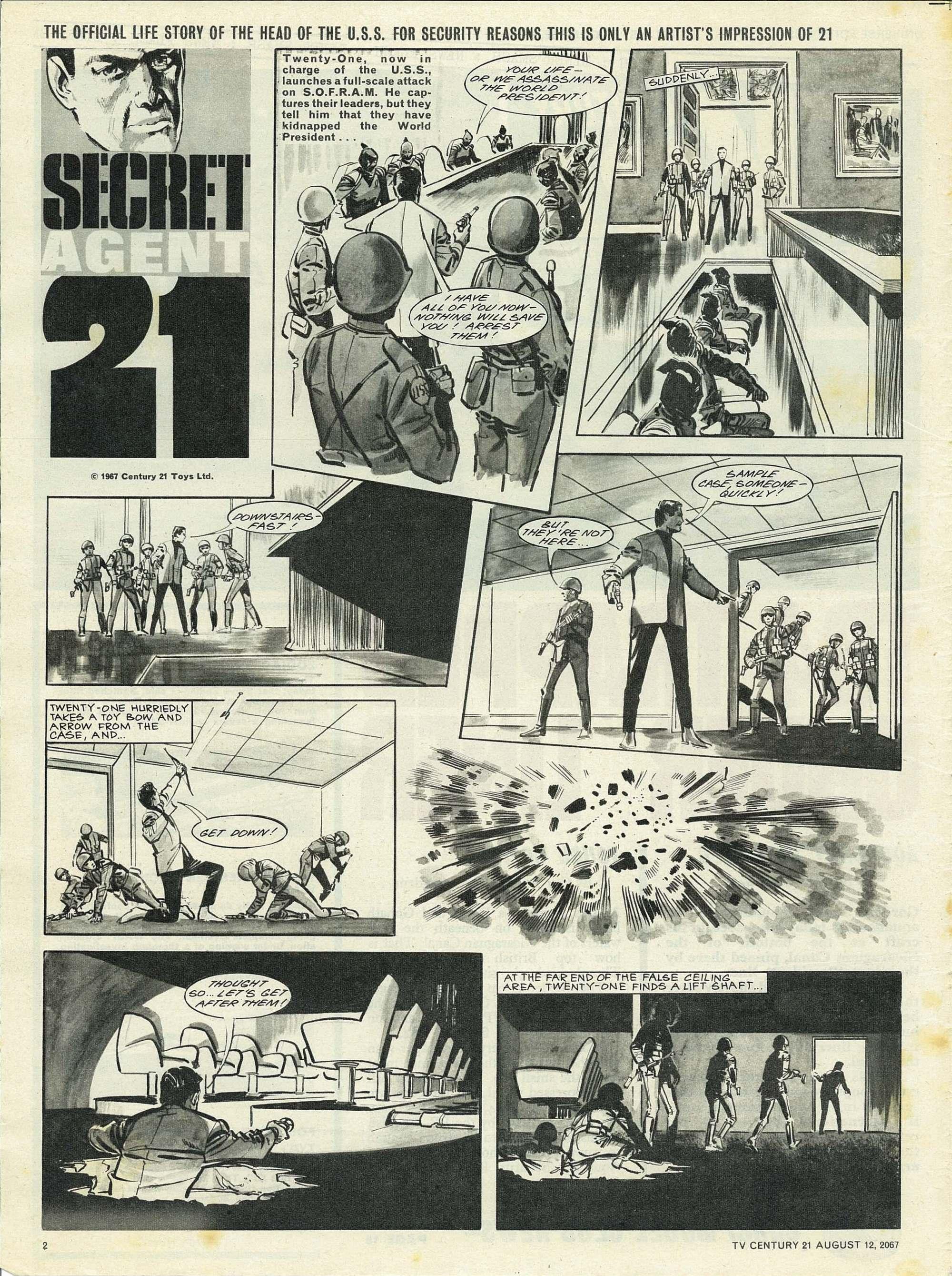 Read online TV Century 21 (TV 21) comic -  Issue #134 - 2