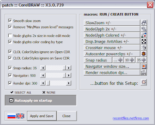 wOxxOm's CorelDRAW macros: wx_PatchDraw [updated]