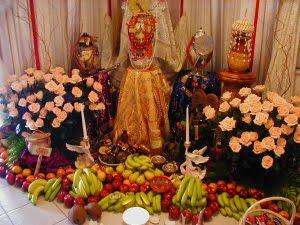 Prayers, Altars and Offerings for Oshun: Altar for Obatala
