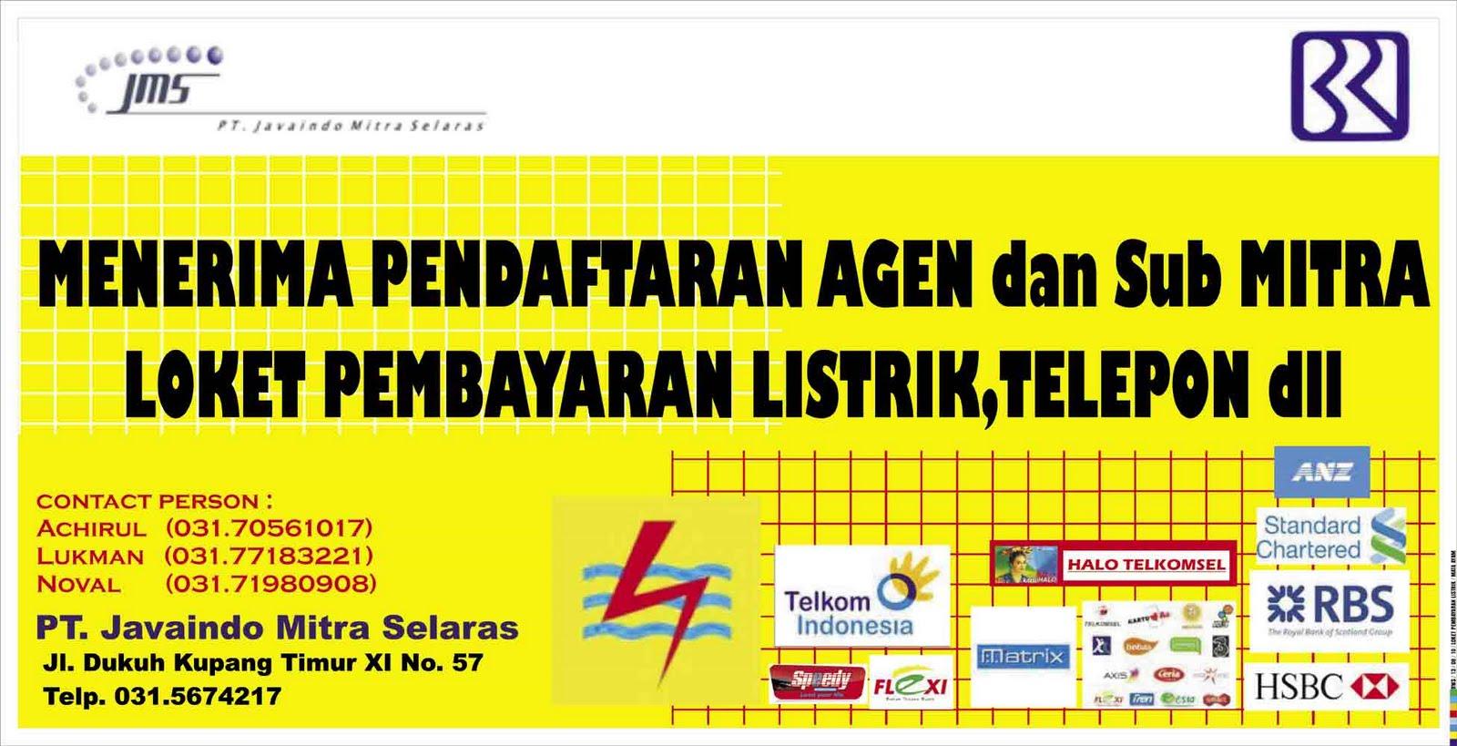 smart advertising: Spanduk Loket Pembayaran Listrik