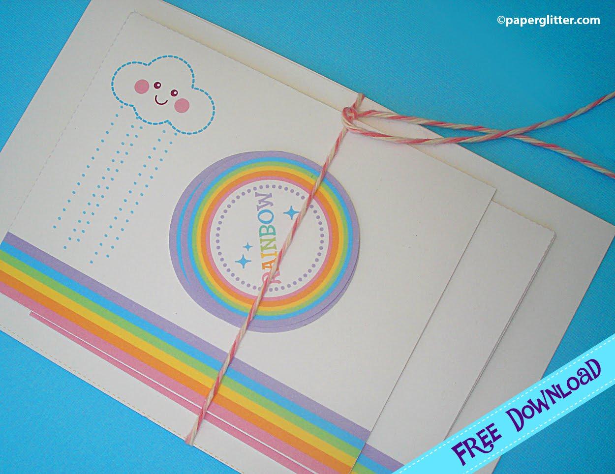 The Lemondrop Tree Free Printable Rainbow Stationary And Accesories