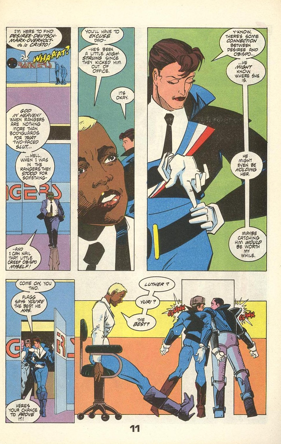 Read online American Flagg! comic -  Issue #31 - 15