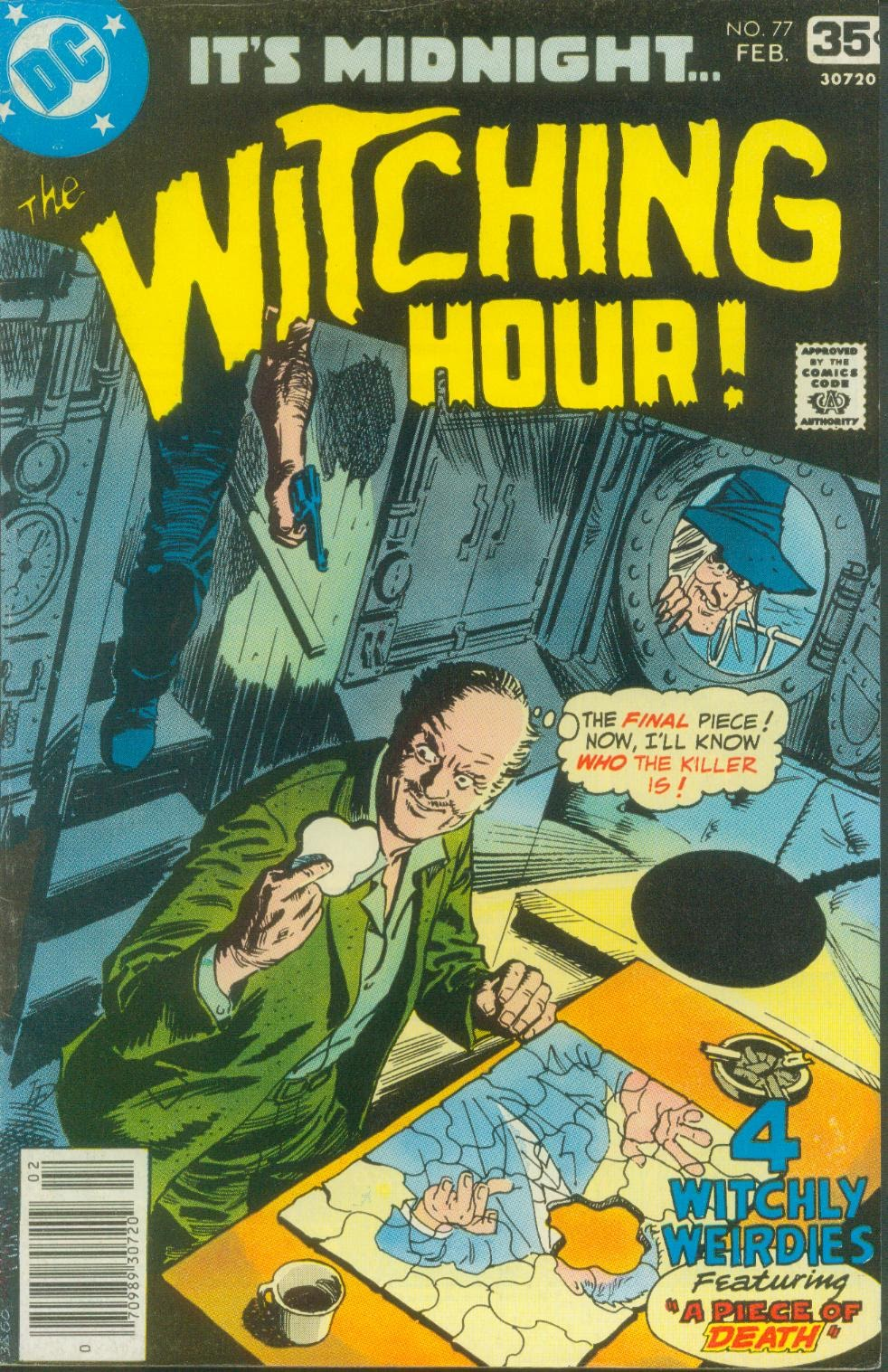 The Witching Hour (1969) issue 77 - Page 1
