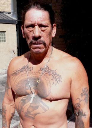 b66ae740991b8 Danny Trejo, attore americano con un passato nel carcere di San Quintino a  San Francisco.