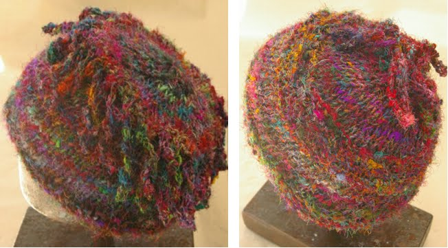 The Potty Knitter Sari Silk Hats And Scarves Pattern