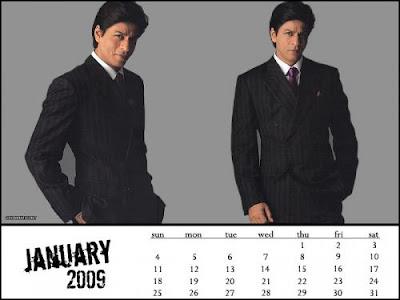 Shahrukh Khan calendar