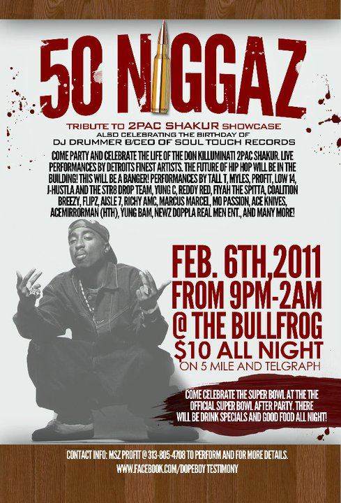 810fresh The Quot 50 Niggaz Quot Tribute To 2pac Showcase