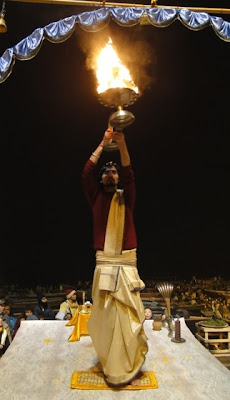 Aarti Varanasi Rio Ganges
