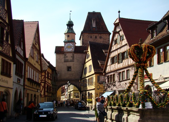 Rothenburg ob der Tauber y la danza de los pastores