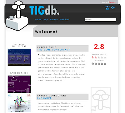 TIGdb The Indie Game database
