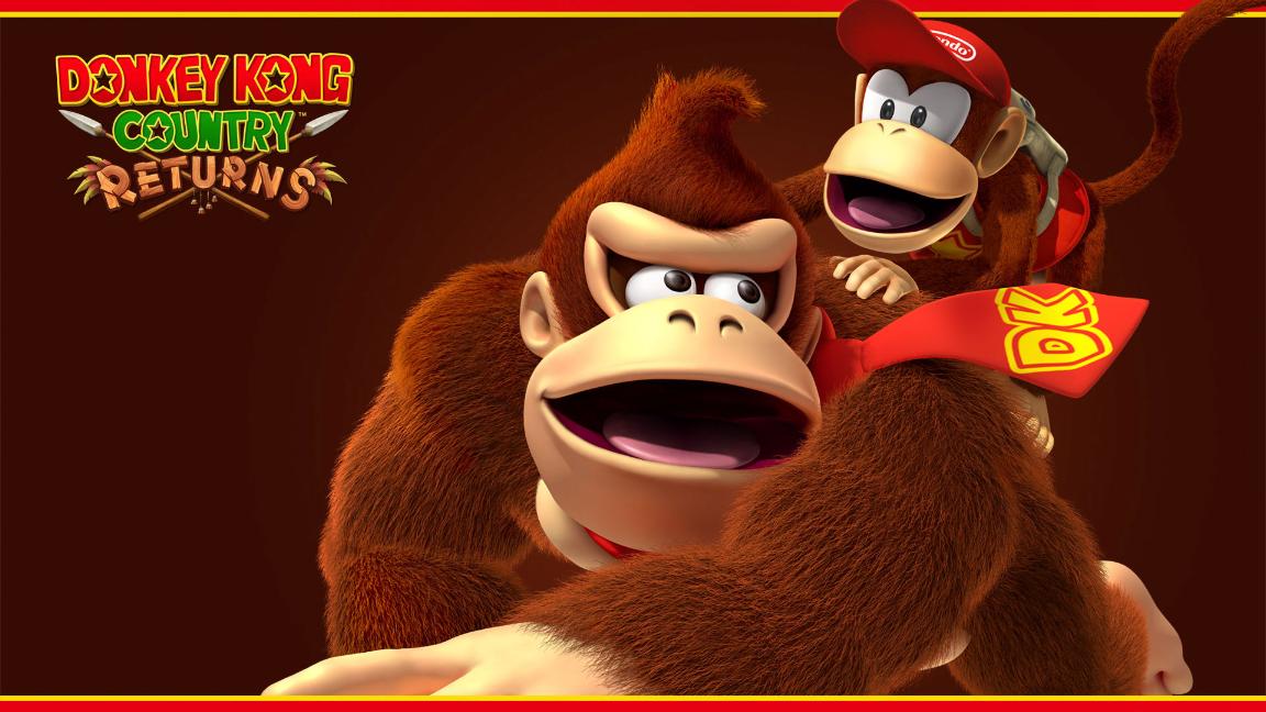 Walls Of Gaming Donkey Kong Country Returns Wallpaper