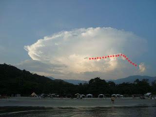 Ufo na praia de Barra do Sahy