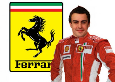 Fernando Alonso to Ferrari in 2010 pics
