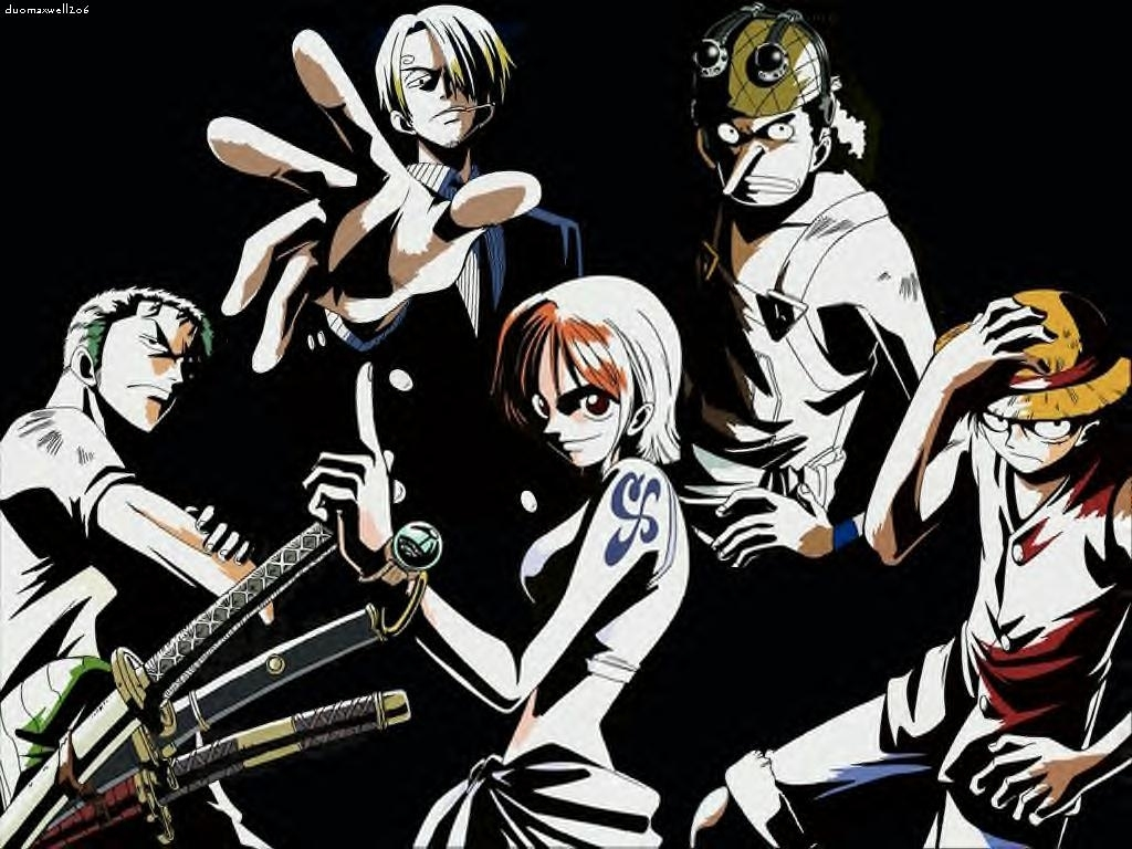 Free download one piece black and white hd wallpaper one piece. WallpapersKu: One Piece Wallpapers