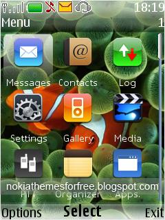 Kamarashev`s Free Nokia Themes: Free iPhone Theme for Nokia 6300 s40