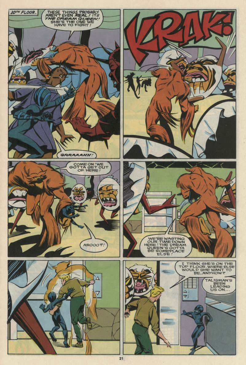 Read online Alpha Flight (1983) comic -  Issue #70 - 23