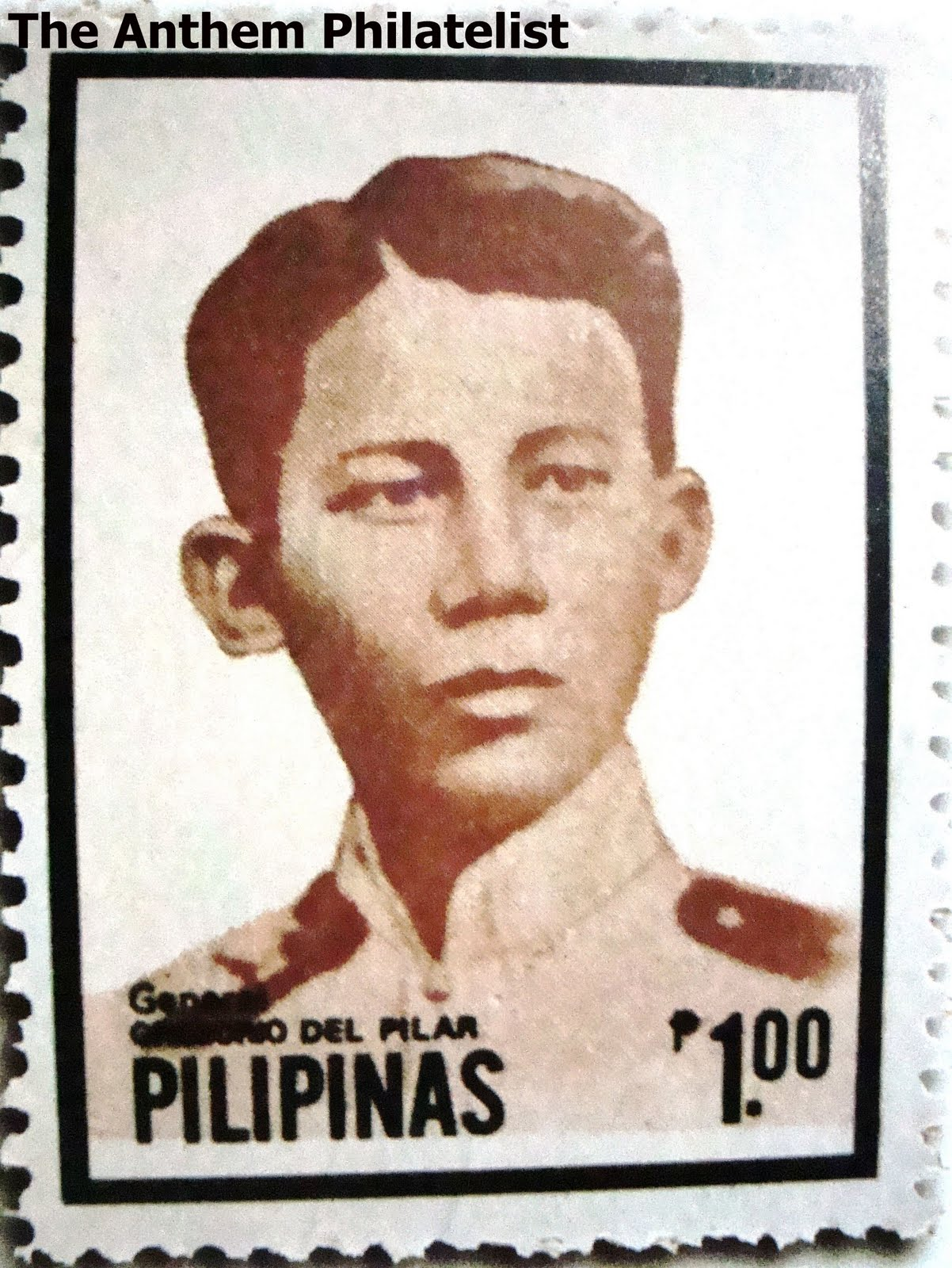 The Anthem Philatelist: Gregorio del Pilar on Stamps