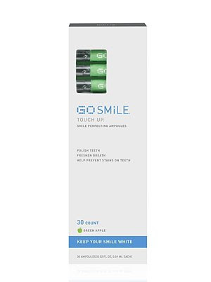 GoSmile, GoSmile Touch Up Smile Perfecting Ampoules Green Apple, teeth, white teeth, teeth whitnening