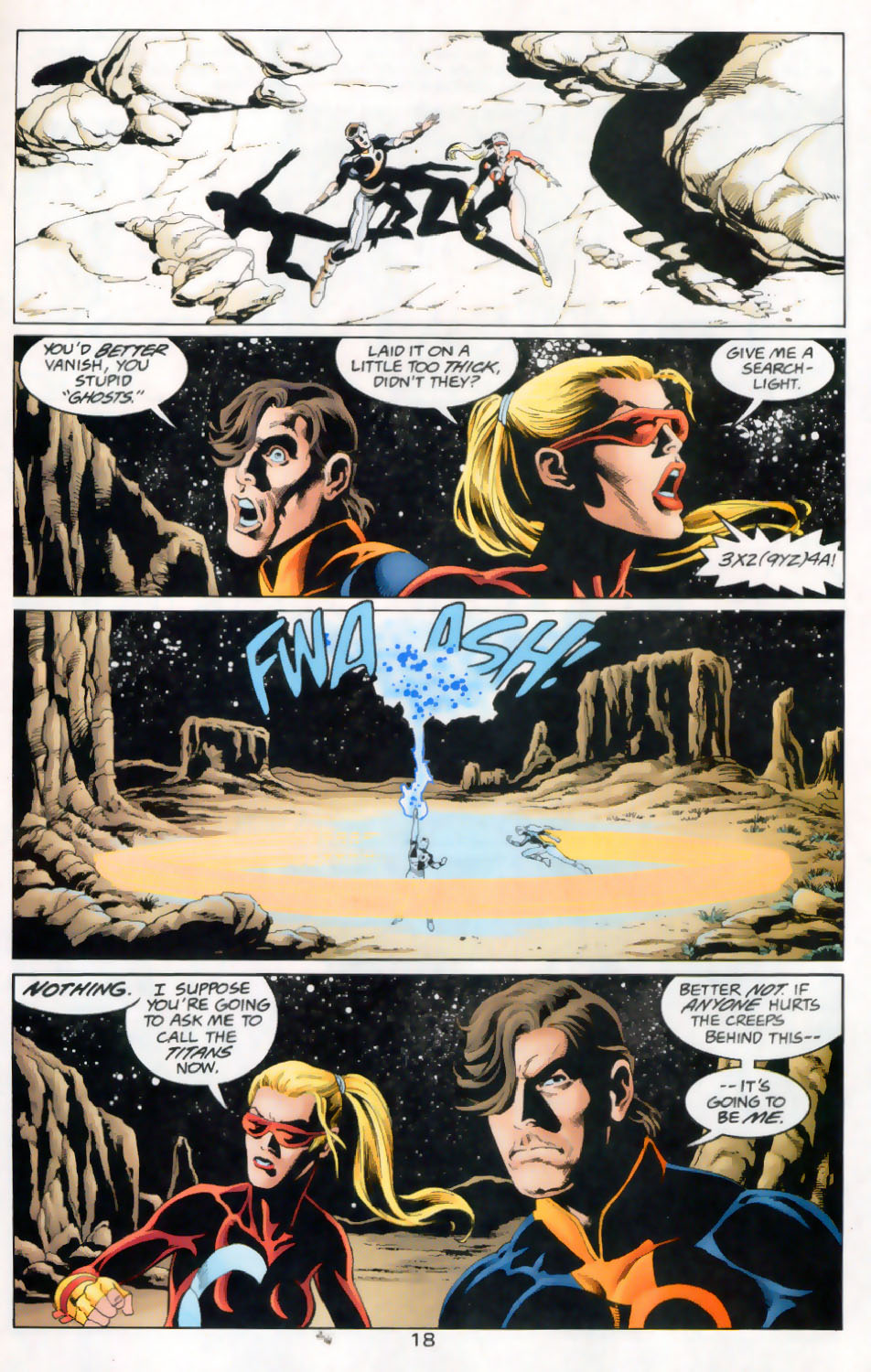 Read online The Titans (1999) comic -  Issue #45 - 19