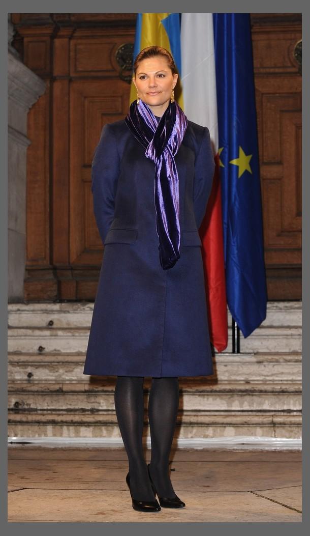 Princesses watchers Visite officielle à Paris - Chambre De Commerce Franco Suedoise