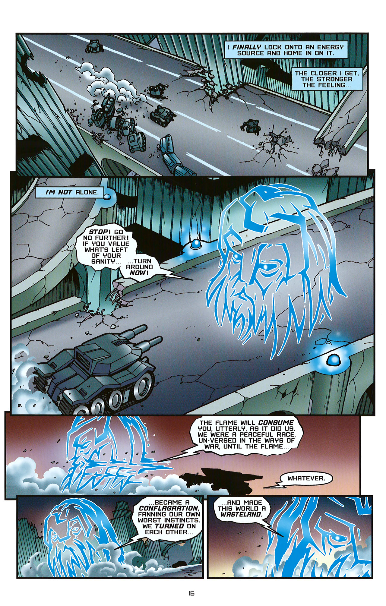 Read online Transformers: Saga of the Allspark comic -  Issue #2 - 19