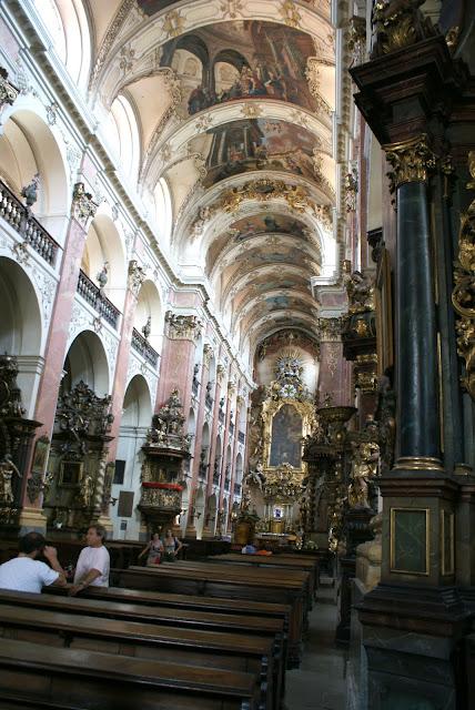 iglesia gótica de Ntra. Sra. de Tyn en Praga