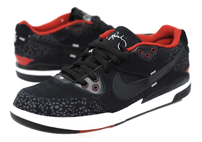 8247da8510c Nike SB Sole  Nike SB Zoom Paul Rodriguez (P-Rod) III Black Red