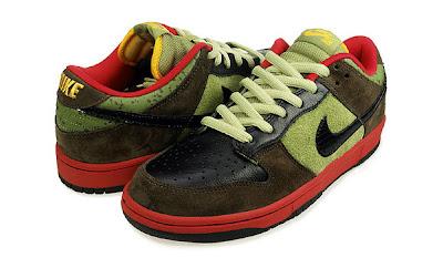 "Nike SB Sole  Nike SB Dunk Low ""Asparagus"" September 2009 e6529ab56"