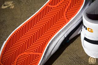 half off aa374 7384b shoes design: The BenG x Nike SB Blazer High – White – Black ...