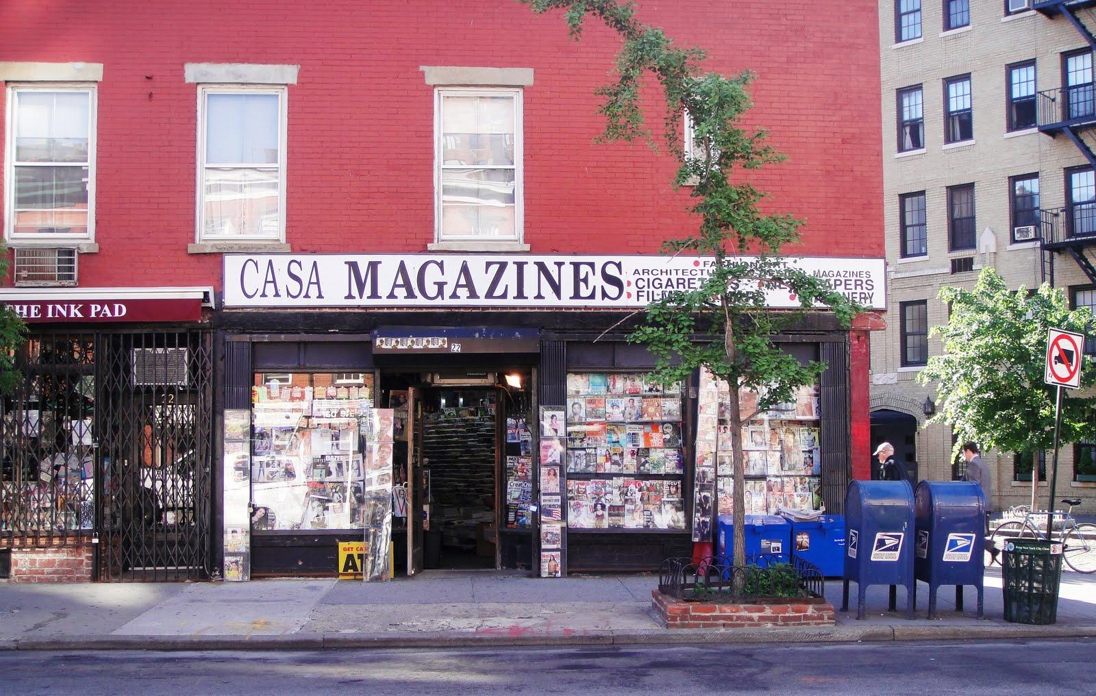 Walking and talking periodical heaven casa magazines for Casa magazine