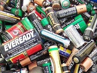 Contaminacion De Pilas Y Baterias