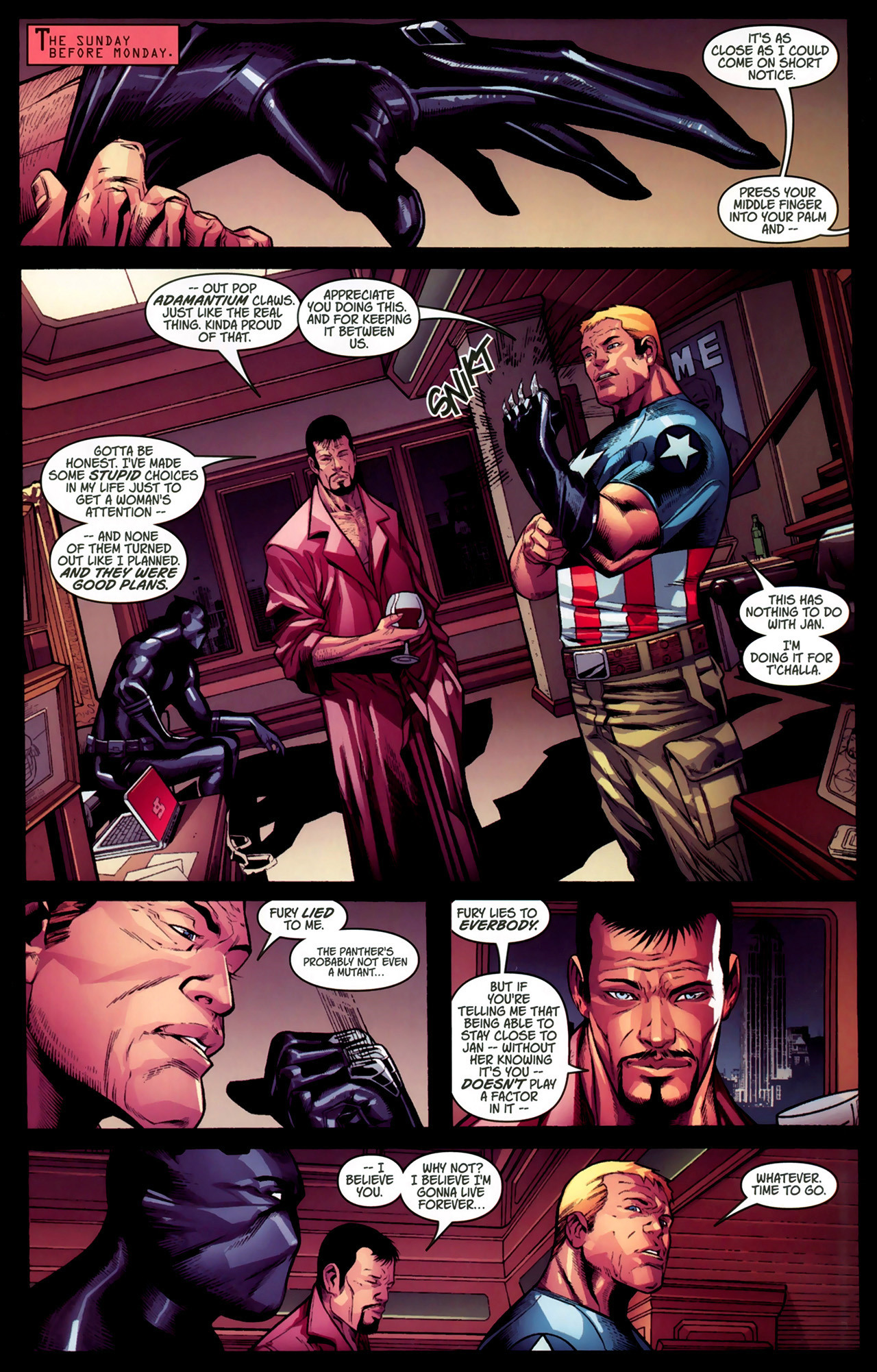 Read online Ultimate Captain America (2008) comic -  Issue # Full - 29