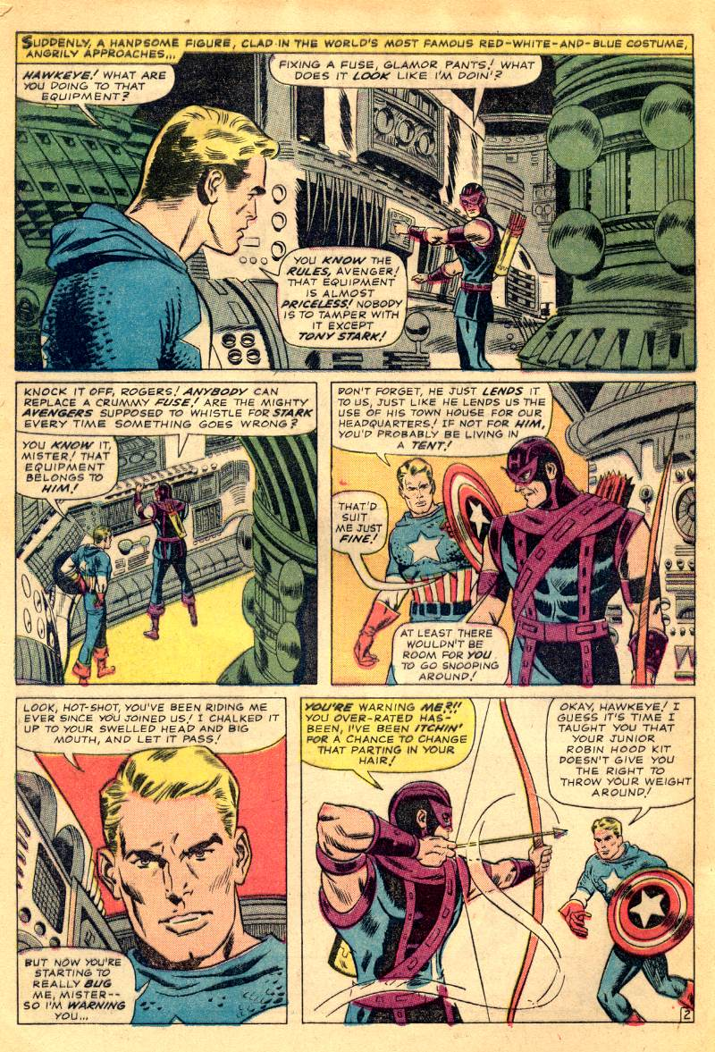 The Avengers (1963) 21 Page 3