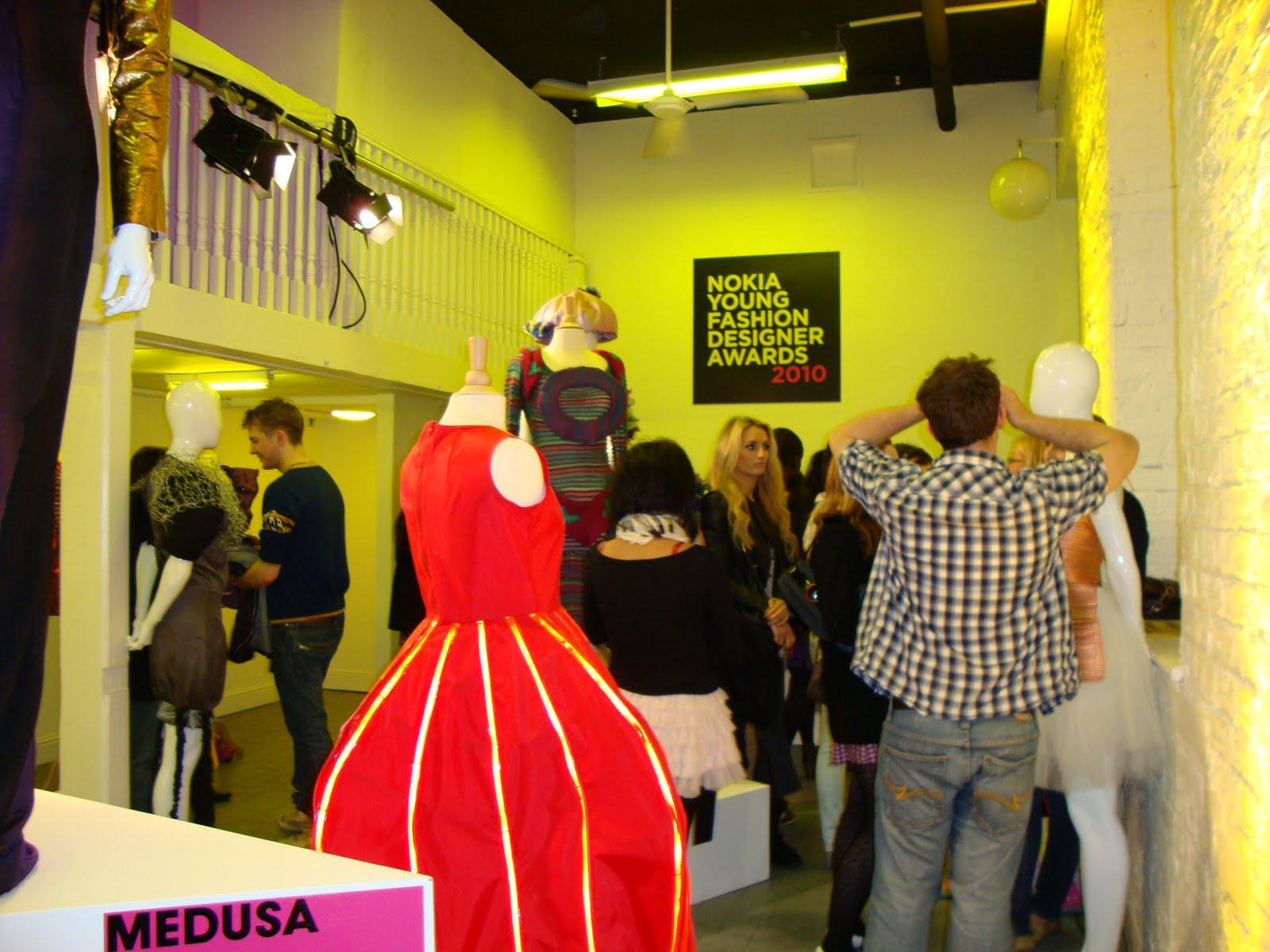Irish Fashionista Nokia Young Fashion Designer Awards Exhibition