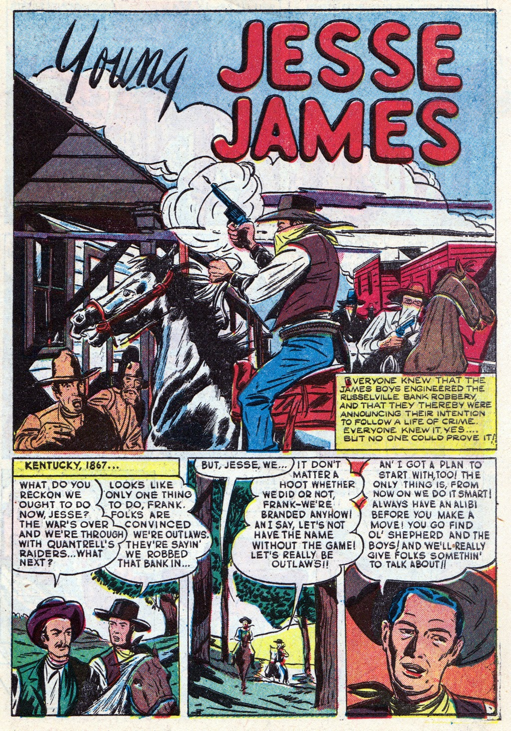 Cowboy Western Comics (1948) issue 18 - Page 3