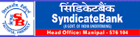 Syndicate Bank jobs at http://www.SarkariNaukriBlog.com