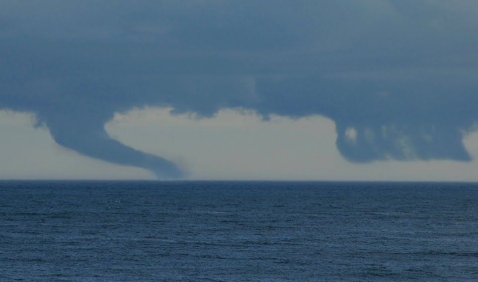Cape Ann Images: More Clouds and a Waterspout?