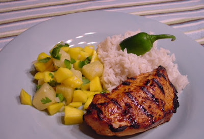 Bean's Bistro: Jamaican Jerk Chicken, Coconut Rice ...
