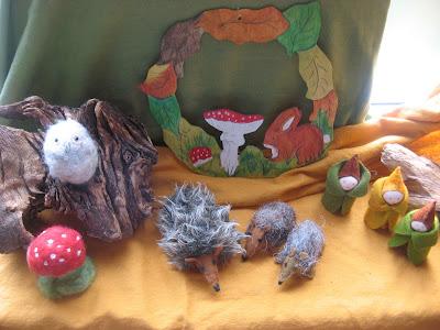 Seizoentafel herfst Atelier de Vier Jaargetijden