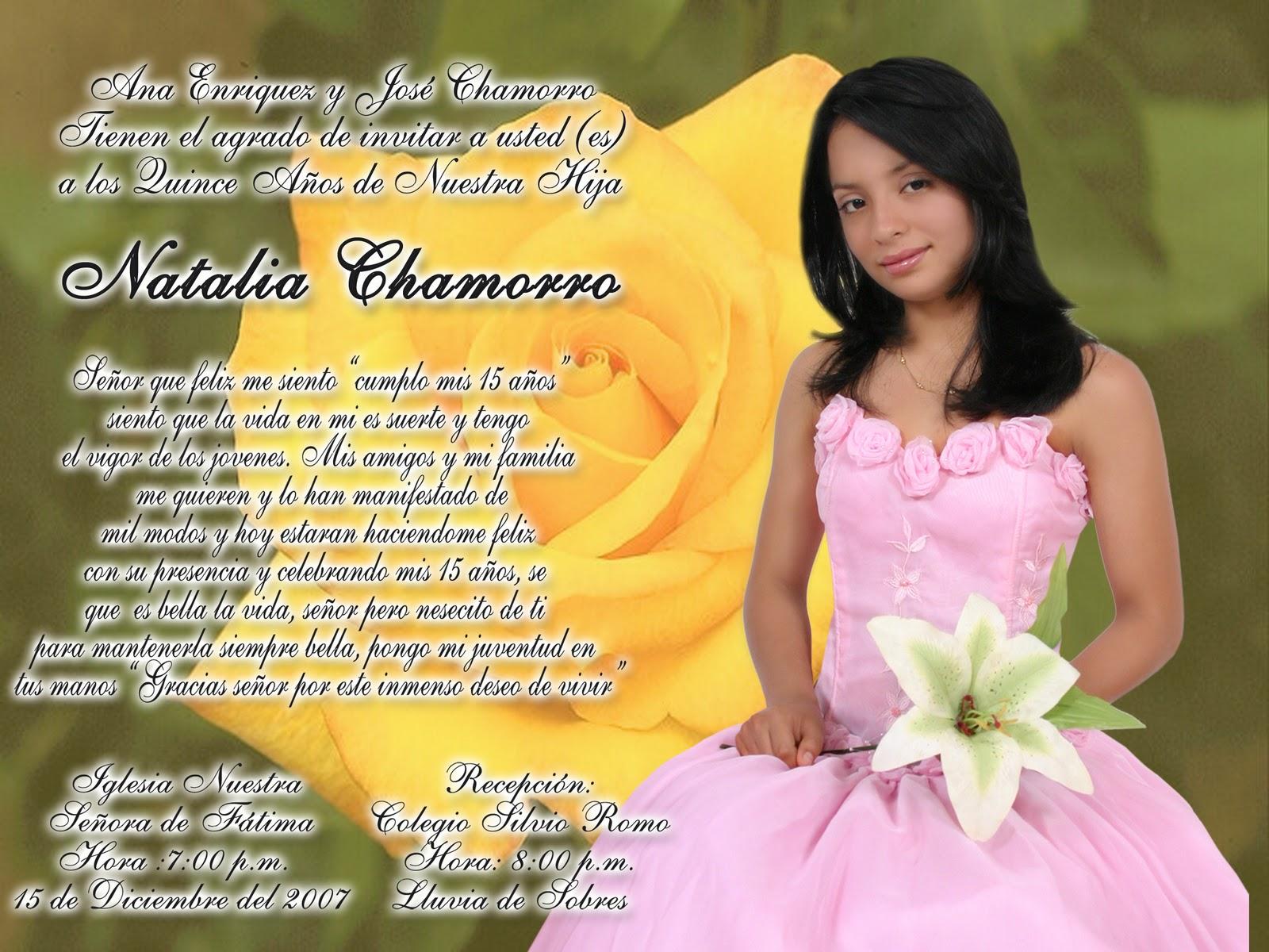 Oraciones Bonitas Para 15 Anos: LAVIZOS: February 2011