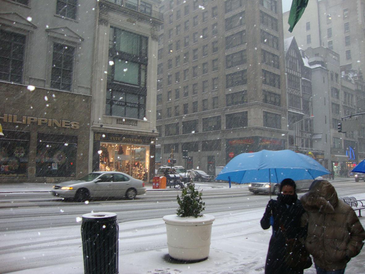 C4 Mapa Na Neve E Modo Noturno: Vacation In NY/Orlando/Miami: Neve, Muita Neve