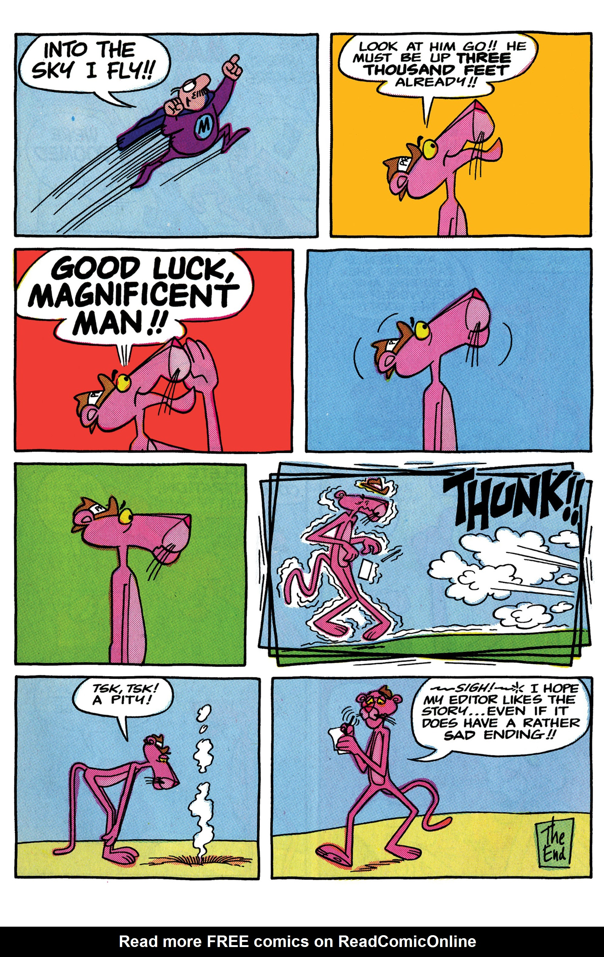 Read online Pink Panther Super-Pink Special comic -  Issue # Full - 27