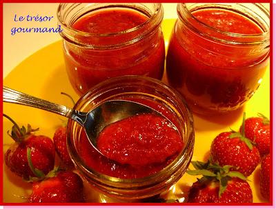 confiture de fraise jello