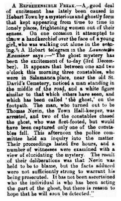 The ghost incident Maitland Herald 18 Dec 1880