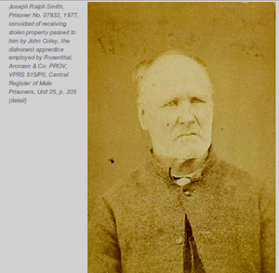 Mugshot Victoria 1877