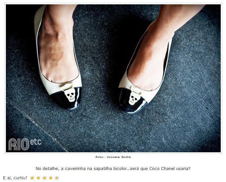 645332a149 Essa sapatilha já é nossa sapatilha de verão 2011. Fiquei apaixonada desde  a hora em que eu desenhei aí quando chegou a peça piloto roubei pra mim e  não ...